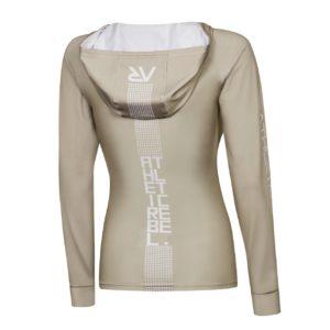 Bluza z kapturem SQUARES CAPPUCCIONO GIRL tył
